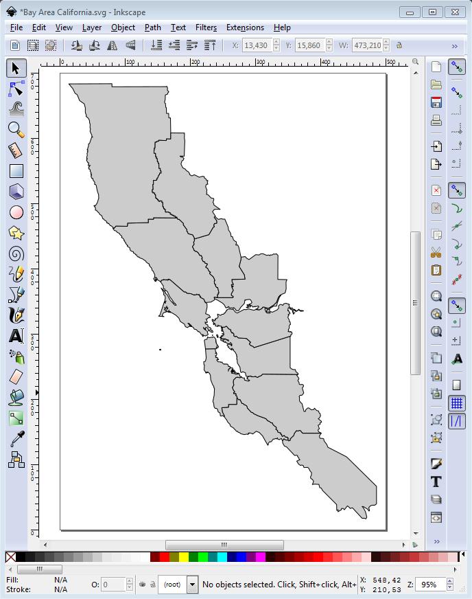 SVG Map Inkscape