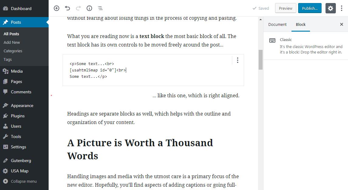 HTML code module