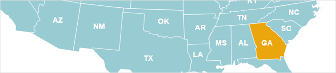 How to highlight different states on the map for different pages