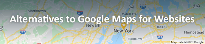 Exploring Google Maps Alternatives for Your Website