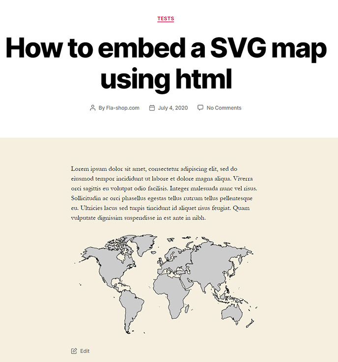pageview with embedded svg