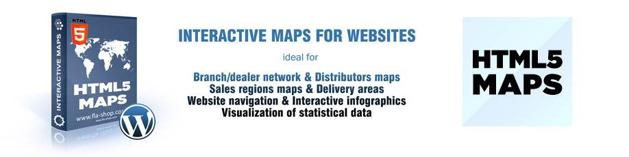Interactive Maps - Free WordPress Map plugins