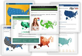 Interactive Maps For Web JavaScript HTML Easy Setup And - Html5 us map