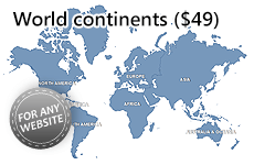 Interactive html5 world map 20 zoom world map html5 20 is an obsolete product please choose our current products with a world map gumiabroncs Image collections