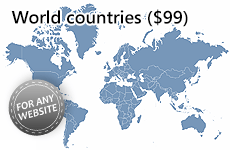 Interactive HTML5 World Map 2.0.