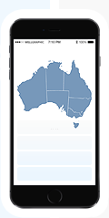 Australia Interactive maps for websites