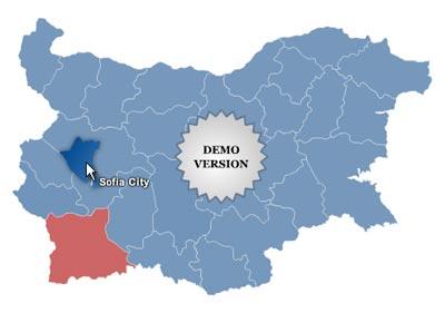 Windows 7 Bulgaria Map Locator 3.6 full