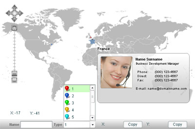 Diamond Map of the World screenshot