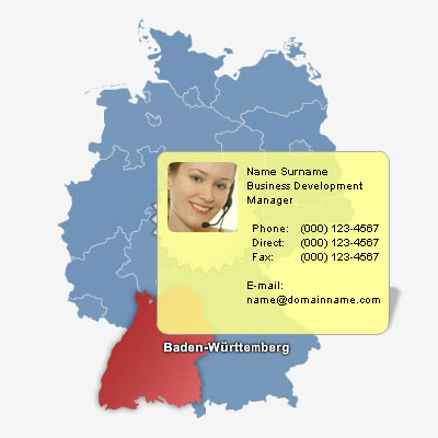Germany Map Locator