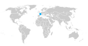 Interactive Mini Map of the World for websites