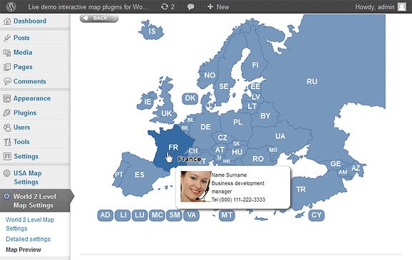 Interactive Map Plugin Wordpress